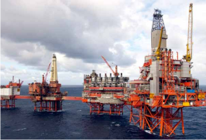 Critical Infrastructure: Gas and Oil platforms