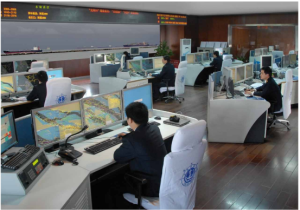 Control room – Port of shanghai